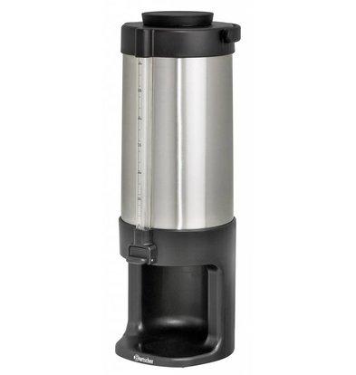 Bartscher Doppel-Heißwasserspender | SS | Füllstandsanzeige | 3 Liter