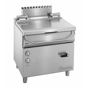 Bartscher Electric Tilting Fryer | Series 700 | With Manual Tilt Wheel | 400V | 800x700x (H) 850-900mm