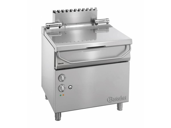 Bartscher Schiebe Fritteuse | Serie 700 | 50 Liter | 400V | 800x700x (H) 850-900mm