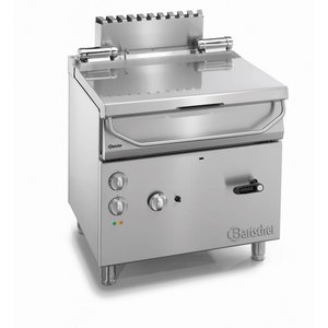 Bartscher Gas Kipp Fritteuse   Serie 700   12,5 kw   230   800x700x (H) 850-900mm