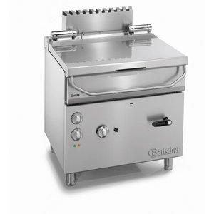 Bartscher Gas Tilting Fryer | Series 700 | 12.5 kw | 230V | 800x700x (H) 850-900mm