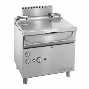 Bartscher Gas Tilting Fryer | Series 700 | With electrically operated tilt-wheel | 12 kw | 230V | 800x700x (H) 850-900mm
