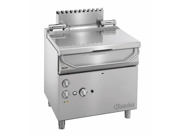 Bartscher Gas Tilting Fryer | Series 700 | With electrically operated tilt-wheel | 12 kw | 230V | 800x700x (H) 850-900mm