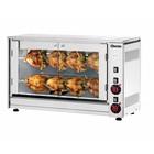 Bartscher Electric Chicken Grill - 2 Digging - 880x430x (h) 530mm - 3.5KW - 8 Chickens