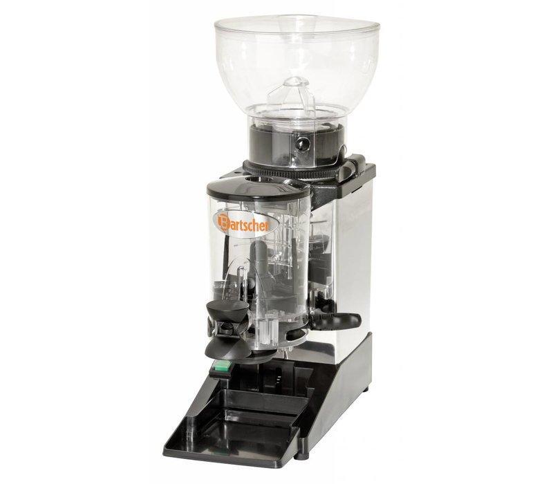 Bartscher Stainless steel coffee grinder model Tauro | 275W | 165x390x (H) 510mm