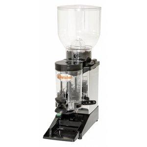Bartscher Coffee grinder model Space RVS | 402W | 165x390x (H) 585mm