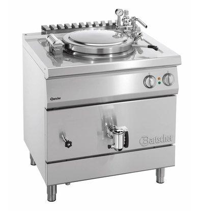 Bartscher Elektrische Kochkessel Indirekte Heizung - 55L - 800x700x (h) 850-900mm - 12KW