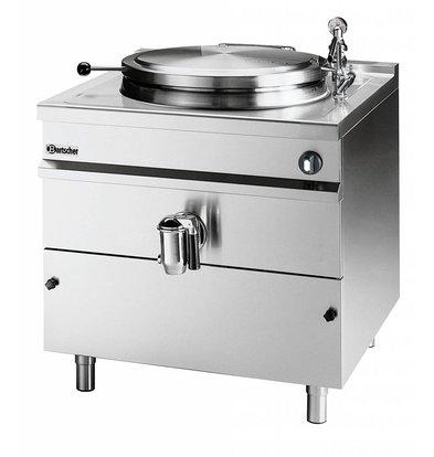 Bartscher Elektrische Kochkessel Indirekte Heizung - 150L - 900x900x (h) 900mm - 18KW