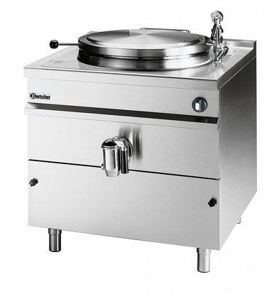 Bartscher Elektrische Kochkessel Indirekte Heizung - 300L - 1150x1300x (h) 900mm - 36KW