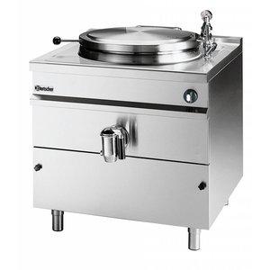 Bartscher Elektrische Kookketel Indirecte Verhitting - 500L - 1150x1300x(h)1030mm - 36KW
