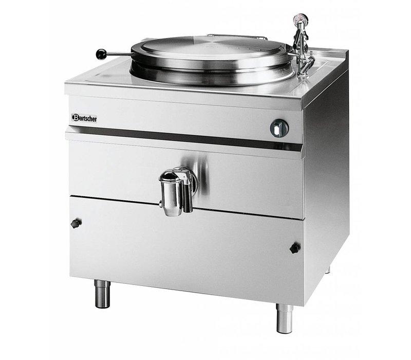 Bartscher Elektrische Kochkessel Indirekte Heizung - 500L - 1150x1300x (h) 1030mm - 36KW