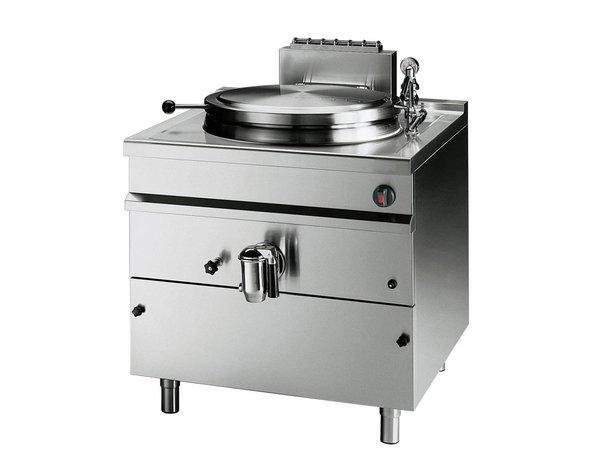 Bartscher Gas Indirekte Kochkessel Heizung - 500L - 1150x1300x (h) 900 mm - 58 kW