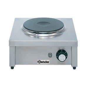 Bartscher Kooktoestel   1 Kookplaat   2 kw   350x350x(H)150 mm