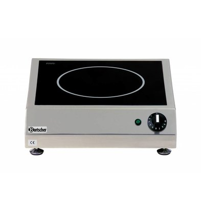Bartscher Ceramic Electric Cooker | 3 kw | 400x455x (H) 120 mm