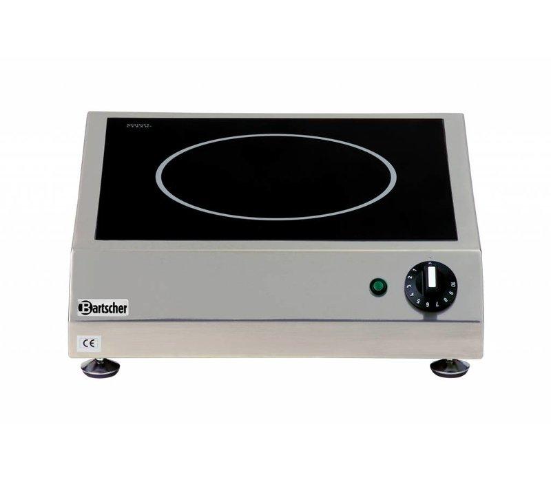 Bartscher Ceramic Electric Cooker | 3 kw | 400x455x (H) 120 mm