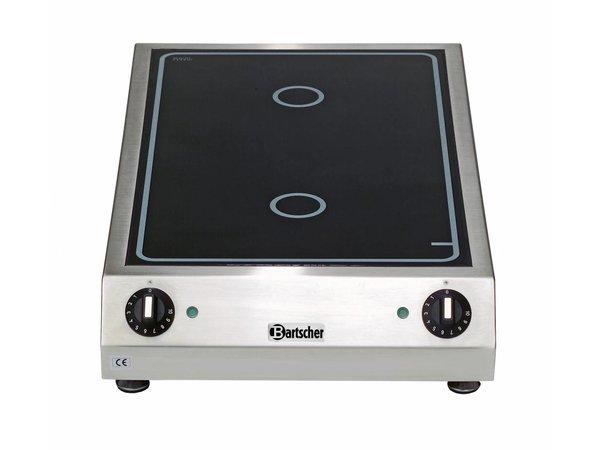Bartscher Keramisch Elektrisch Kooktoestel   3 kw   400x655x(H)120mm