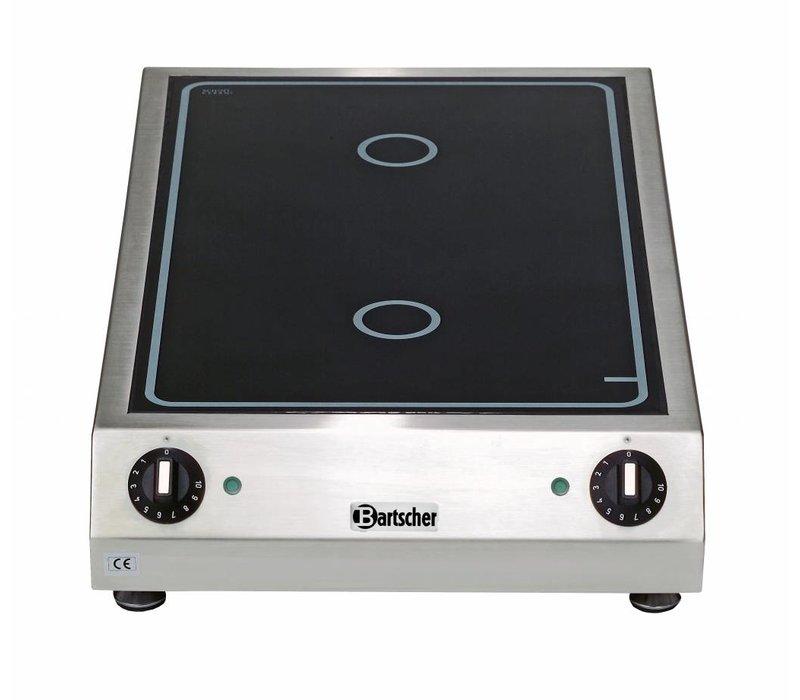 Bartscher Ceramic Electric Cooker | 3 kw | 400x655x (H) 120mm