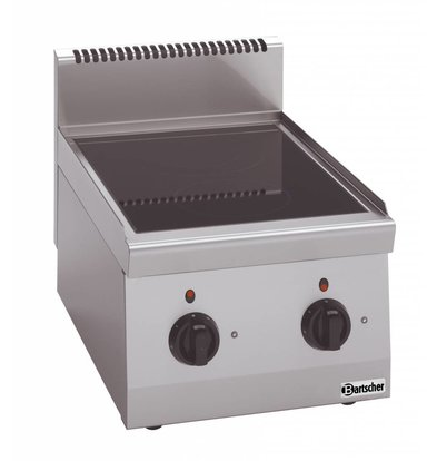Bartscher Ceramic Cooker | With two zones | Series 600 | 4.3 kw | 400x600x (H) 290 mm