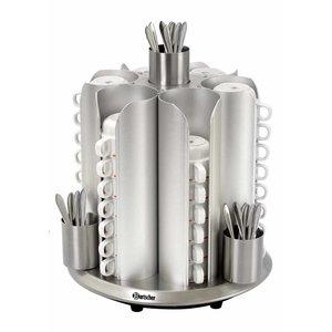 Bartscher Cup Heater Tabletop | 48 Tassen | 200W | XXL ANGEBOT!