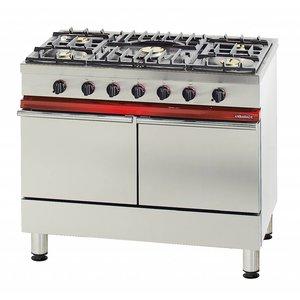 Bartscher Gas Fornuis + 2 Gas Ovens Serie Ambassade | 1000x650x(H)900mm