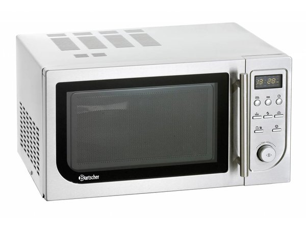 Bartscher Microwave oven with convection oven and grill - 25 liters - 900 W