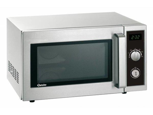 Bartscher Microwave oven ANALOG - 1000 Watt - 25 liters -