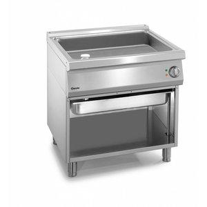 Bartscher Electric Multi Roasting pan Series 900 - 2/1 GN - 41.5 Liter - 900x900x (H) 850-900mm