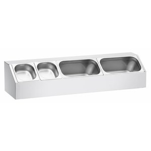 Bartscher GN containers top shelf