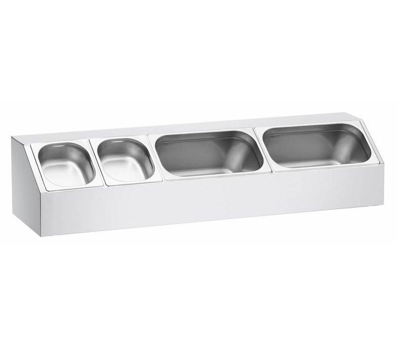 Bartscher Gastronorm containerhouder, opzetmodel