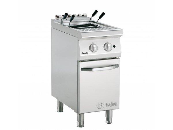 Bartscher Gas Pasta Cooker Series 700 | 8,7kW | 24 Liter | 400x700x (H) 850-900mm