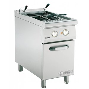 Bartscher Elektrische Pastakoker + 1 Bak van 40 liter | Serie 900 | 400V | 9,9kW | 450x900x(H)850-900mm