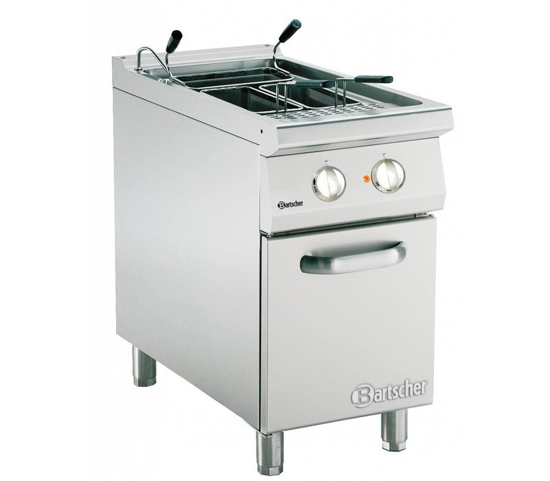 Bartscher Electric Pasta Cooker + 1 container of 40 liters | Series 900 | 400V | 9,9kW | 450x900x (H) 850-900mm