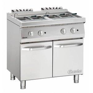 Bartscher Gas Pasta Cooker Series 700 | 17,4kW | 24 Liter | 800x700x (H) 850-900mm