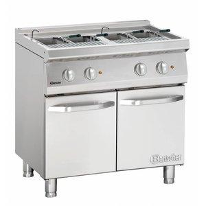 Bartscher Electric Pasta Cooker Series 700 | 400V | 14kW | 24 Liter | 800x700x (H) 850-900mm