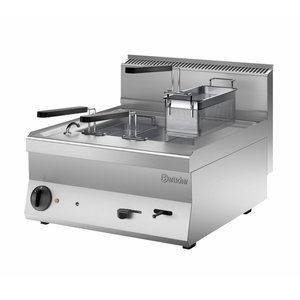 Bartscher Electric Pasta Cooker | 400V | 9kW | 28 Liter | 600x650x (H) 295mm