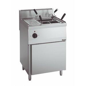 Bartscher Elektrische Pastakoker Serie 600 | 400V | 5,5kW | 26 Liter | 600x600x(H)900mm