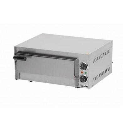 Bartscher Pizzaofen Elektro Single | 1 Pizza 35cm | Mini 1 | 545x500x (H) 230mm