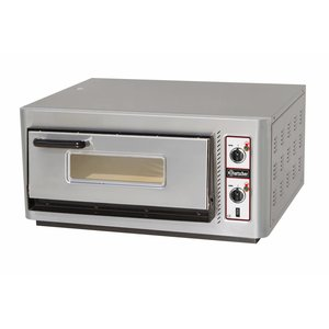 Bartscher Pizza Oven Electric Single | 4 pizzas Ø30cm | 400V | 5kW | 910x810x (H) 440mm