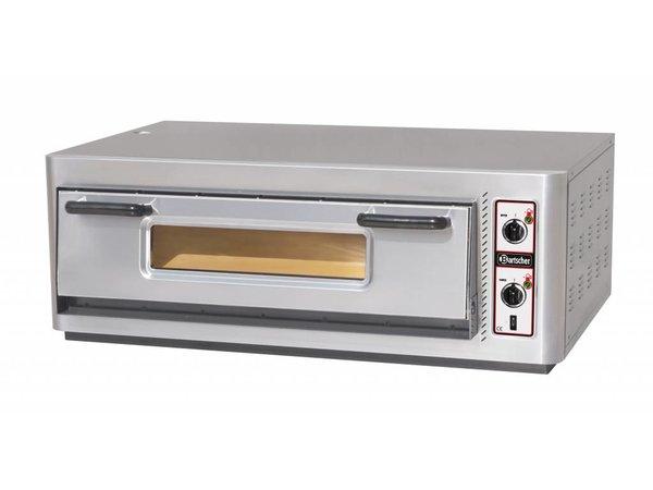 Bartscher Pizzaofen Elektro Single | 6 Pizzen 30cm | 400V | 6kW | 1210x830x (H) 435mm