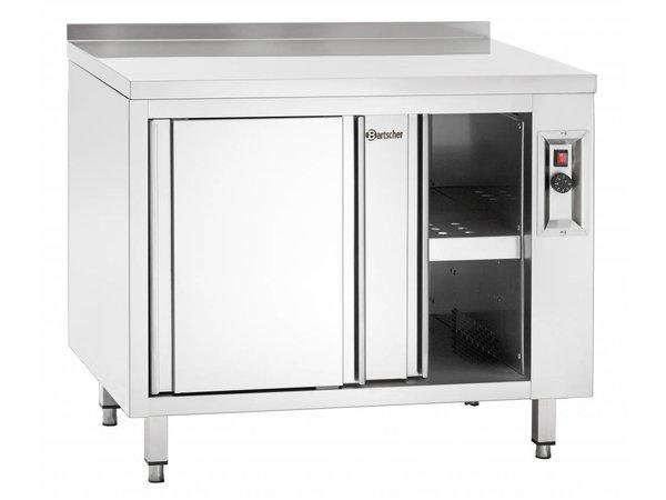 Bartscher Wärmeschrank Schrank mit Schiebetüren - 160x70x (h) 85 / 90cm