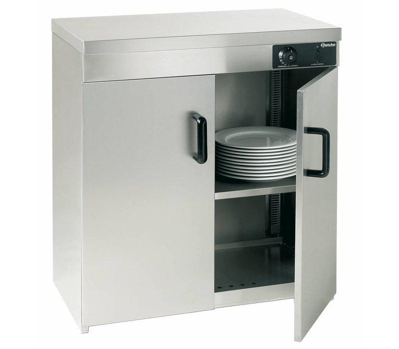 Bartscher Plate warmer stainless steel plates 110-120 - 1.2 kW - 75x51x (h) 85.5cm