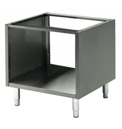 Bartscher Base frame, open with intermediate shelf Series 600