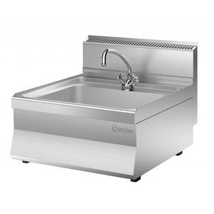 Bartscher Sink Series 650 | with 1/2 '' Kraan | 600x650x (H) 295 mm