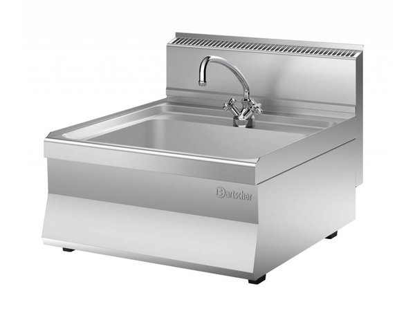 Bartscher Sink-Serie 650 | mit 1/2 '' Kraan | 600x650x (H) 295 mm