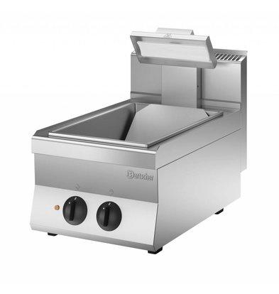 Bartscher Frites-Erwärmungssystem mit Heizstrahler - Keramik - 1 / 1GN - 400x650x (H) 295 mm