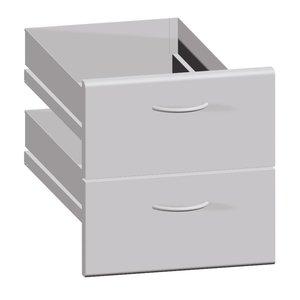 Bartscher Schubladen 900, B360, 2 Stück