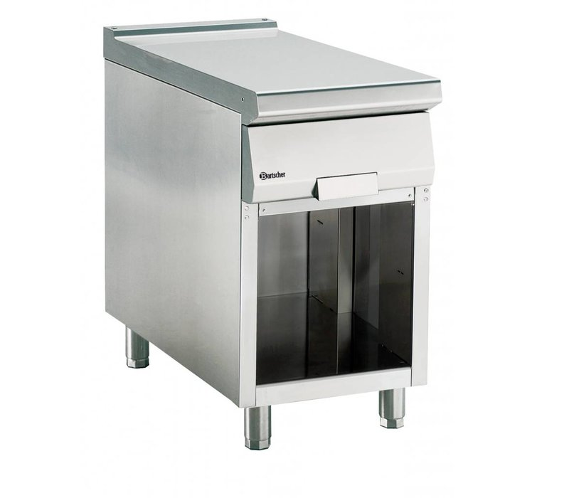 Bartscher Neutral element with drawer and open base frame Series 900