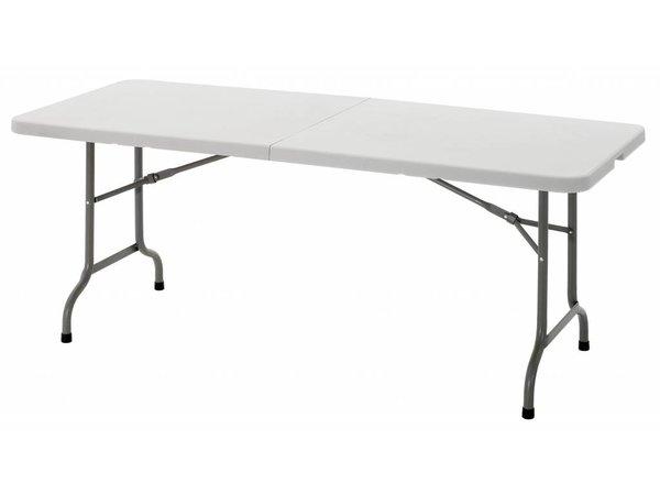 Bartscher Tabelle Voll zusammenklappbar - Max 150 kg - 74 (h) x183 (b) cm - DELUXE!