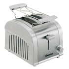 Bartscher 2 slices toaster with removable crumb tray - 19x26,5x (H) 19.5 cm - 850W
