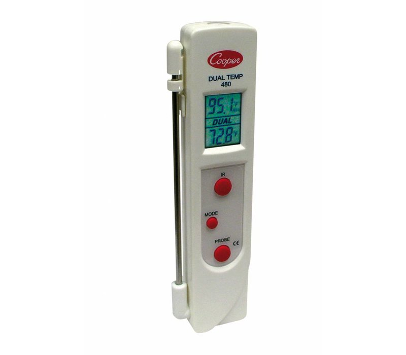 Bartscher Infrarood Thermometer Kernthermometer | -33 C tot +220 C (-27›F tot +428›F) | 33x22x(H)160 mm